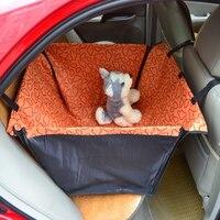 Haustier Hund Katze Wasserdichte Auto Sitzbezug Mat Blanket Wiege Bett hinten zurück haustiere hammock blau rot rosa orange d0041