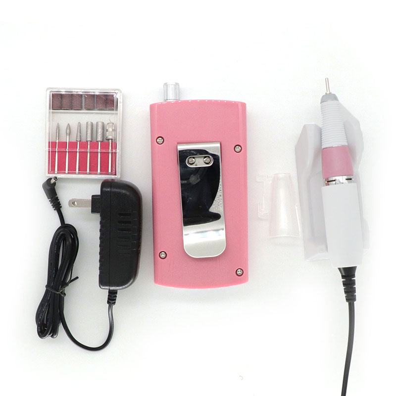 kesinails Rechargeable 18W 30000RPM Electric Nail Drill Machine Acrylic Nail File Drill Manicure Pedicure Nail Art Equipment