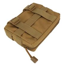 Airsoft Taktis 600D Molle Utilitas EDC/Aksesori DROP Nylon Tahan Air Majalah Pouch Outdoor Gear Tas K5(China)