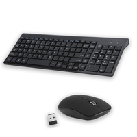 USB Keyboard And Mouse gamer Combo For Desktop Computer Wireless Keyboard And Mouse For Mac Notebook PC