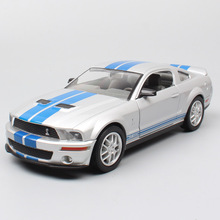 Road Signature 1:24 Scales Muscle cars ford MUSTANG Shelby GT 500 2007 racing car 2007 metal diecast