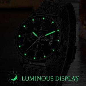 Image 5 - סוויש 2020 גברים של שעוני יד אופנה מותג ספורט שעונים עמיד למים צבאי הכרונוגרף קוורץ שעון זכר Erkek Kol Saati
