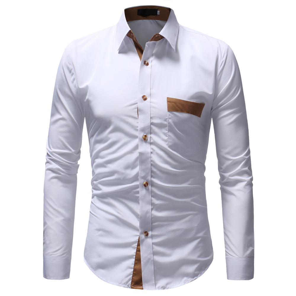 2accf82fe83 New 2018 Autumn Cotton Dress Shirts High Quality Mens Casual Shirt Fashion  Design Men Plus Size XXXL Slim Fit Social Shirts