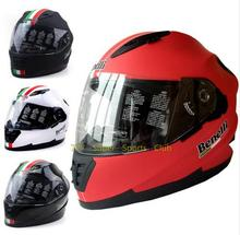 (1pc&4colors) 100% Original ABS Material Benelli Brand Motorcycle Full Face Helmets Moto Racing Helmet Casque Casco Capacete
