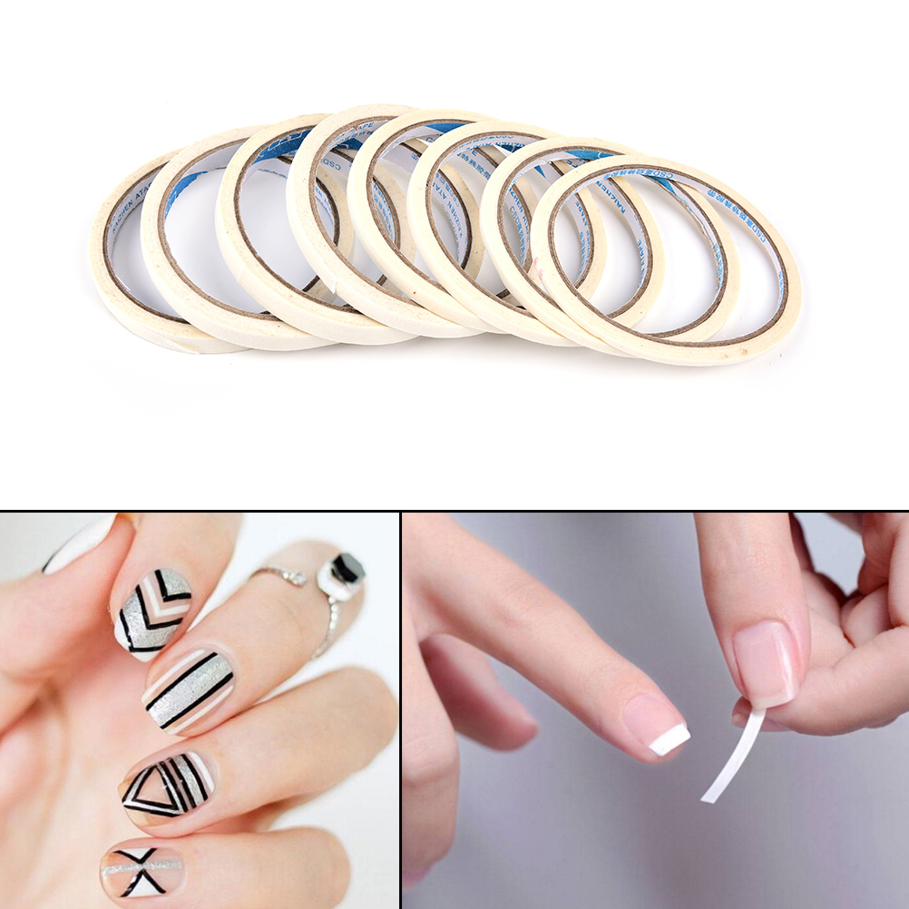 12M Nail Striping Tape Line DIY Water Decal Nail Art Stickers Design Adhesive Strips For Nails Styling Tool Manicure Tape