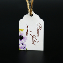 Custom tag Personalized Hang Gift Tag With Name For Wedding and Bridal Shower or Baby