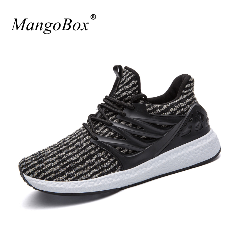 Mens Athletic Sneakers Rubber Sole Mens Sports Shoes Stability Walking Trainers Anti-Slippery Mens Gym Sneakers