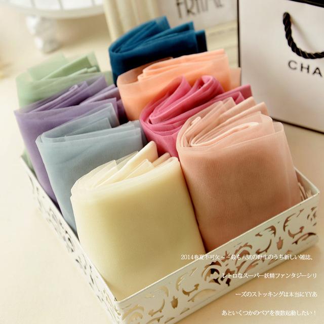 Women tights Stockings Ultrathin Ice Silk Sunscreen
