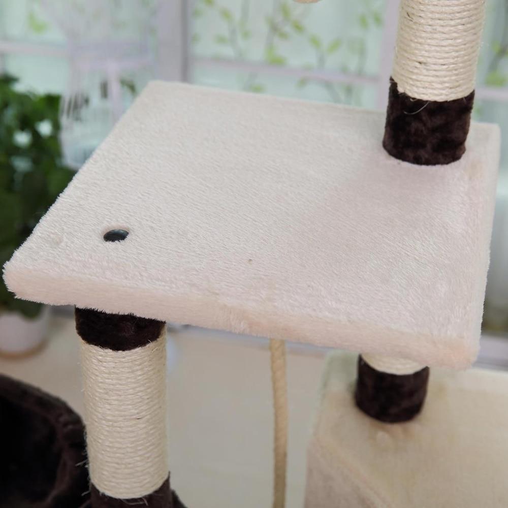 Pengiriman domestik H139cm Kucing Mainan Kucing Rumah Kucing Tidur - Produk hewan peliharaan - Foto 6