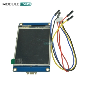"""Image 2 - 2.8 """"Nextion inteligentny Panel wyświetlacza HMI dla Arduino Raspberry Pi 2 A + B + zestawy USART UART szeregowy dotykowy TFT LCD"""