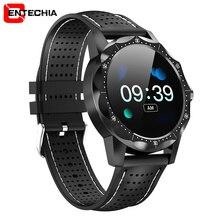 Для мужчин IP68 Водонепроницаемый трекер активности фитнес-трекер цветной экран Смарт-часы Smartwatch часы с полями для Android Iphone IOS Телефон