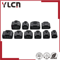 Free Shipping 10 Sets VW AUDI Female Connector 2 3 4 5 6 Pin 1 5mm