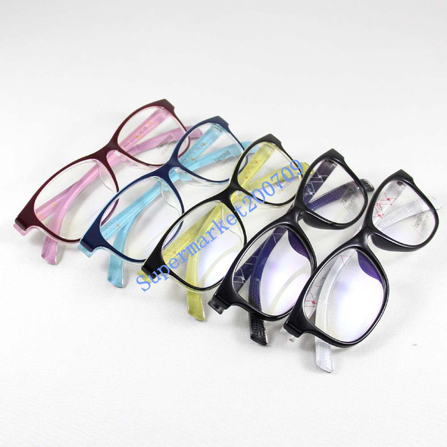 026e5b8cd7b Computer Glasses Clear Acrylic Lens UV Protection Anti-radiation  Anti-stress Reading Eyewear Nerd Bookworm Shade Points Read