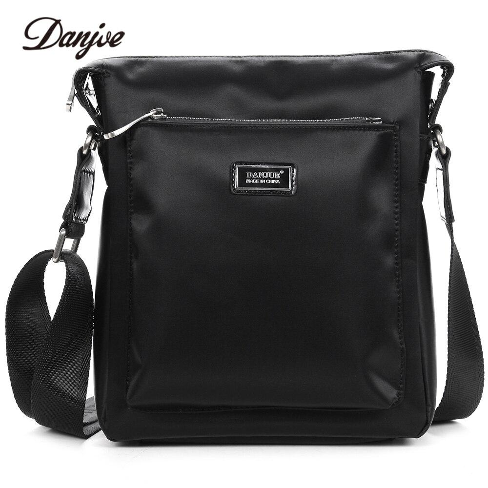 DANJUE High Quality Oxford Cloth Messenger Bag Male Casual Crossbody Bag Men Classic Black Men Bag Leisure Shoulder Bag high quality casual men bag