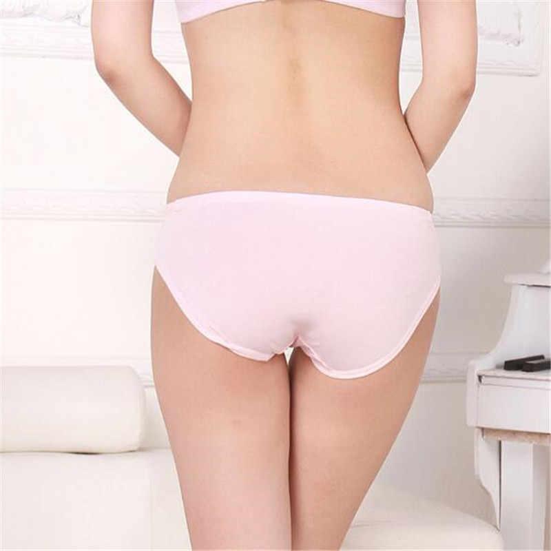 ต่ำเอวชุดชั้นในผ้าฝ้าย Breathable Belly สนับสนุนผู้หญิง U - Shaped ชุดชั้นในกางเกงนุ่มกางเกงคลอดบุตร