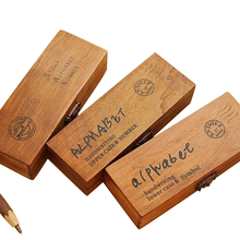 42PCS/set  Handwriting Alphabet letter Wooden Stamp Set / DIY Decorative Stamp wooden box/ funny Work/ 3designs for choose alphabet number pattern wooden stamp set