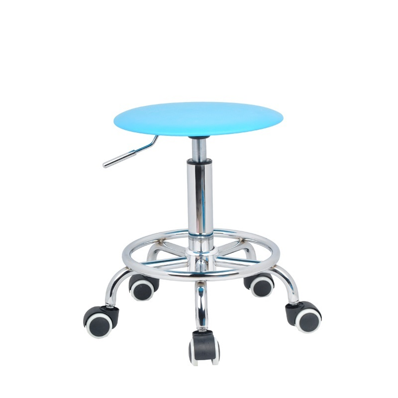 South African popular barber stool Furniture chair wholesale and retail blue green black color coffee house stool free shipping