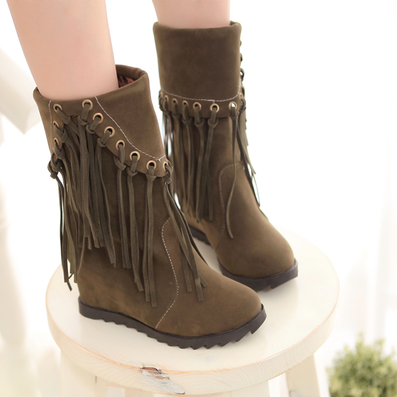 Wonderful Leather Ankle Boots  Cuffed Lace Up Boots  Brown Leather Boots