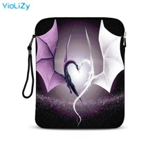 Dragon print 9.7 10 inch tablet case notebook protective skin sleeve mini PC Case Cover pouch customize laptop bag IP-23355