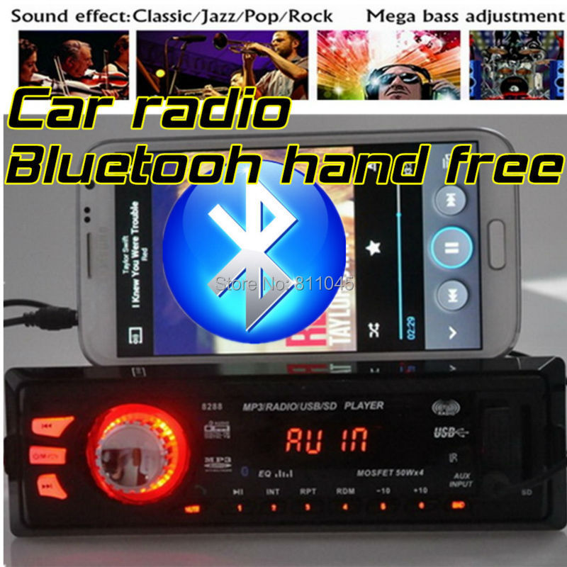 12V Car font b Radio b font car Stereo FM MP3 Audio Player Bluetooth function mobile