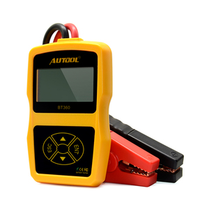 Image 5 - Автомобильный тестер аккумуляторов AUTOOL BT360 12 В, цифровой тестер для затопленного геля, 12 В, анализатор для автомобильных аккумуляторов, многоязычный