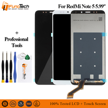 цена на For Xiaomi Redmi Note 5 LCD Display Touch Screen Digitizer Assembly  Redmi Note 5  LCD