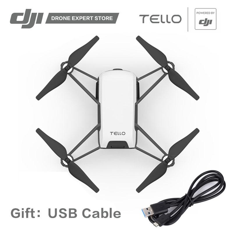 DJI Tello Jouet Drone avec Caméra FPV APP Wifi Contrôle 13 min Temps de Vol 720 p HD Vidéo Scratch Programmation SDK Cadeau Quadcopter