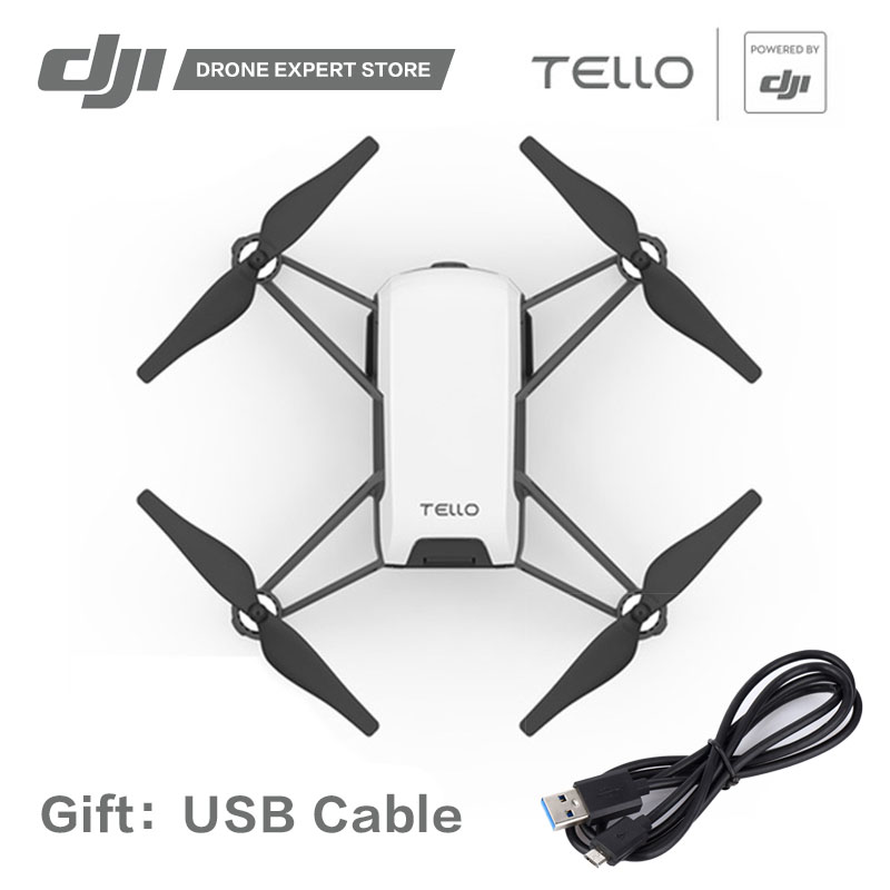 DJI Tello Toy Drone with Camera FPV APP Wifi Control 13min Flight Time 720P HD Video Scratch Programming SDK Gift Quadcopter ryze tello drone with dji flight tech camera photography video quadcopter toy drone birthday gift children education