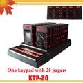 1 teclado 25 invitados localizador montaña con la pantalla llamada pantalla número de llamada del camarero cliente Personal localizador sistema de paginación montaña