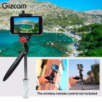 Gizcam Handheld Grip Gimbal Camera Stabilizer Portable For GoPro Hero5 4 Mobile Phone Professional Sport Camera Accessories Gift