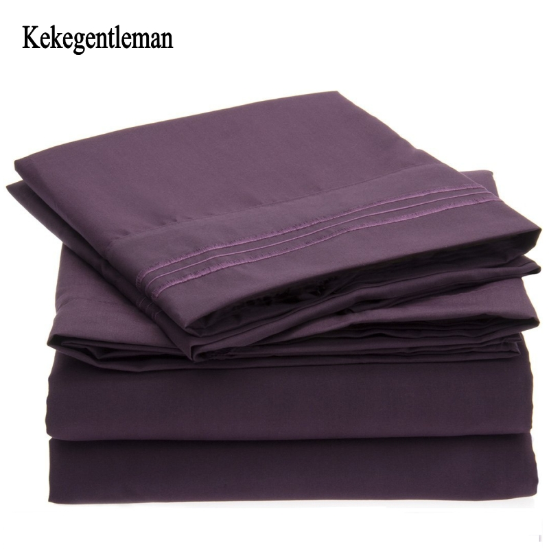us standard size bed bed sheet set solid twin full queen king king california king sheets. Black Bedroom Furniture Sets. Home Design Ideas