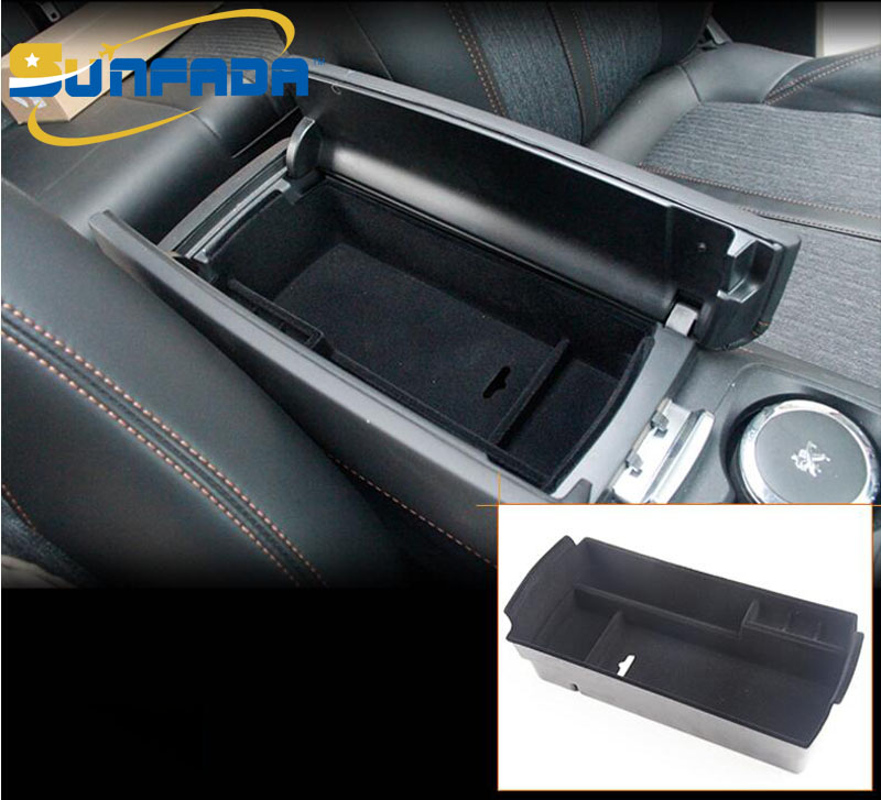 buy car center armrest storage box abs inner tray organizer replacement parts. Black Bedroom Furniture Sets. Home Design Ideas