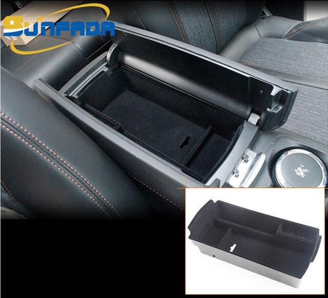 car center armrest storage box abs inner tray organizer. Black Bedroom Furniture Sets. Home Design Ideas