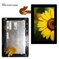 Para Asus TF701 TF701T 5449N Display LCD Tela Do Painel de Toque Digitador Sensor de Vidro Montagem