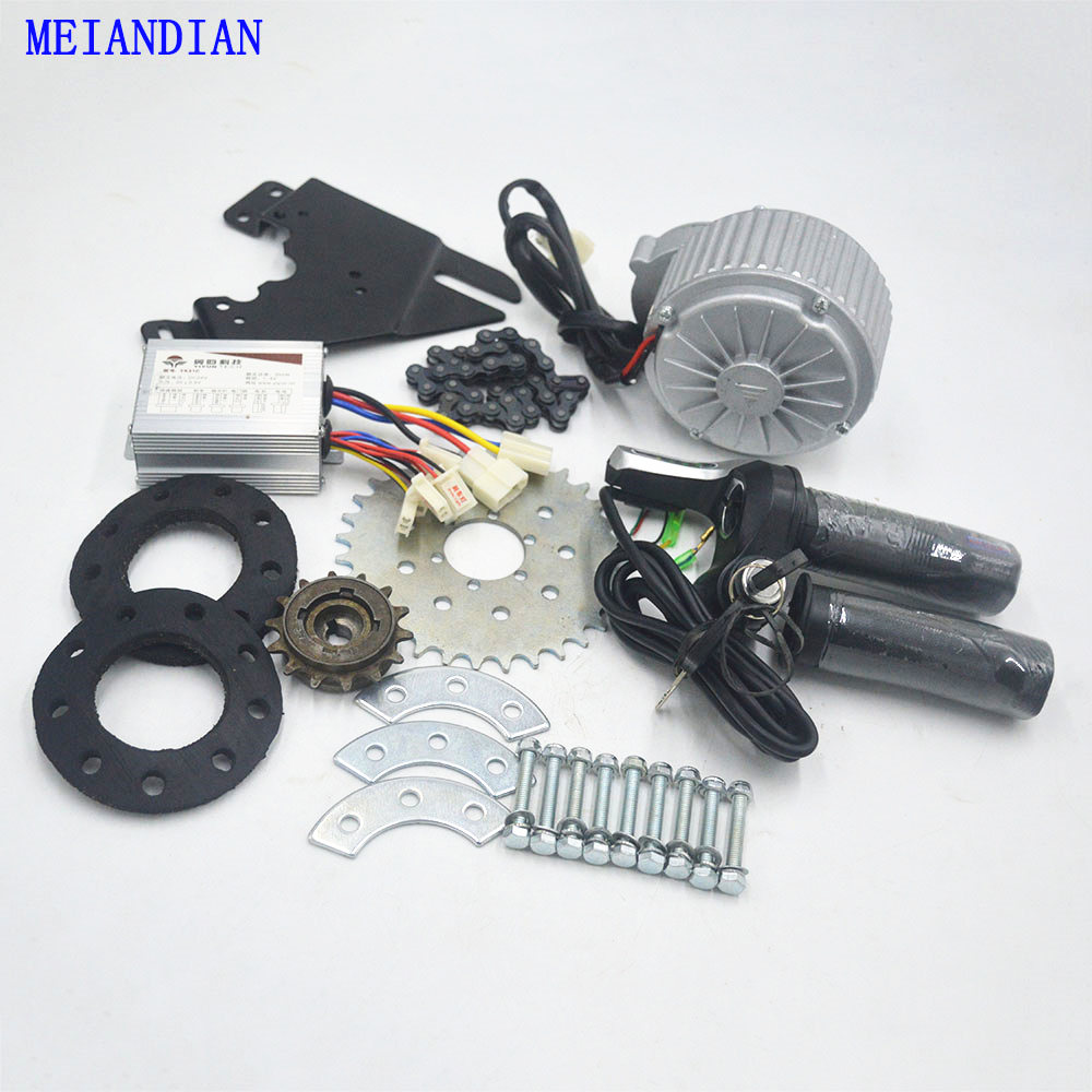 24V 36V 450W Newest Electric Bike kit Conversion Kit Can Fit Most Of Common Bicycle Use Spoke Sprocket Chain Drive For City Bike|Electric Bicycle Motor| - AliExpress