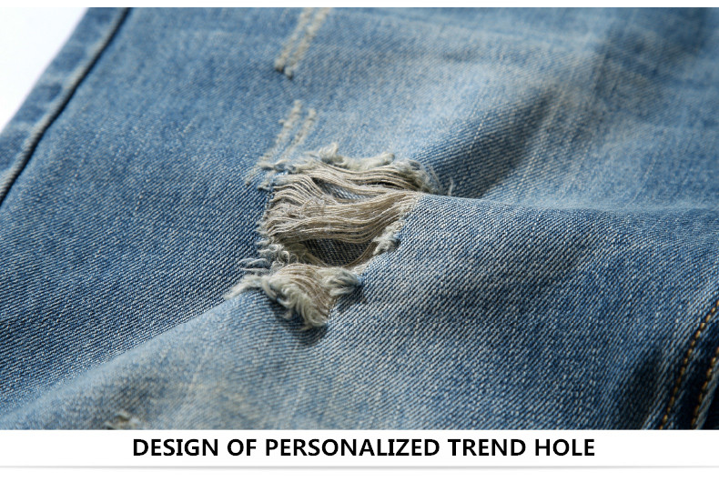famous brand factory leather zipper jeans men deep blue slim straight pants masculina vaqueros trouse mid regular solid pencil 9