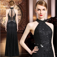 Diamond lace fishtail free shipping new high-end women's wholesale festa Party proms summer evenings dresses