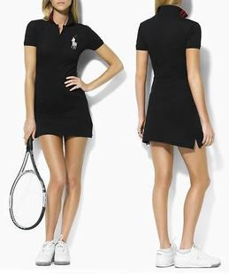 Professional Tennis One Piece Dress Cotton Slim Style Sports Fashion Top Quality Free Shipping