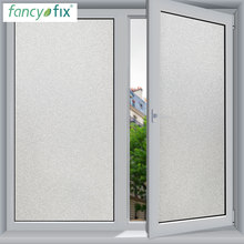 FANCY-FIX 45cm width Frosted Window Film Glass Sticker,DIY Office Bathroom Bedroom Privacy Film Static Cling No Glue Glass Film(China)