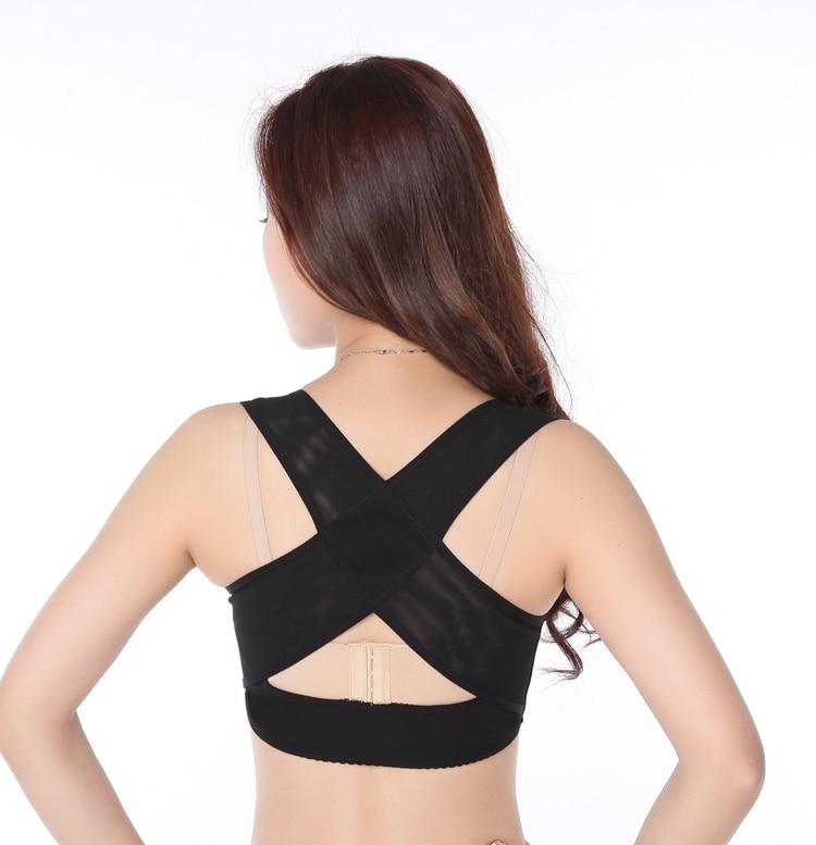 9ae262dfa16744 Frauen Buckel Haltung Form Corrector Oberen Schulter Mit Push Up Bh Brust  Unterstützung (S M L XL Beige und Schwarz) in Frauen Buckel Haltung Form  Corrector ...