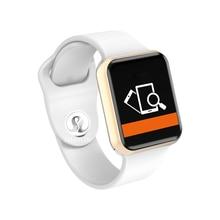 Купить с кэшбэком Smart Watch Series 4 for Apple 42mm Smartwatch Fitness Tracker Passometer Activity Wristband Heart Rate Sensor (Red Button)