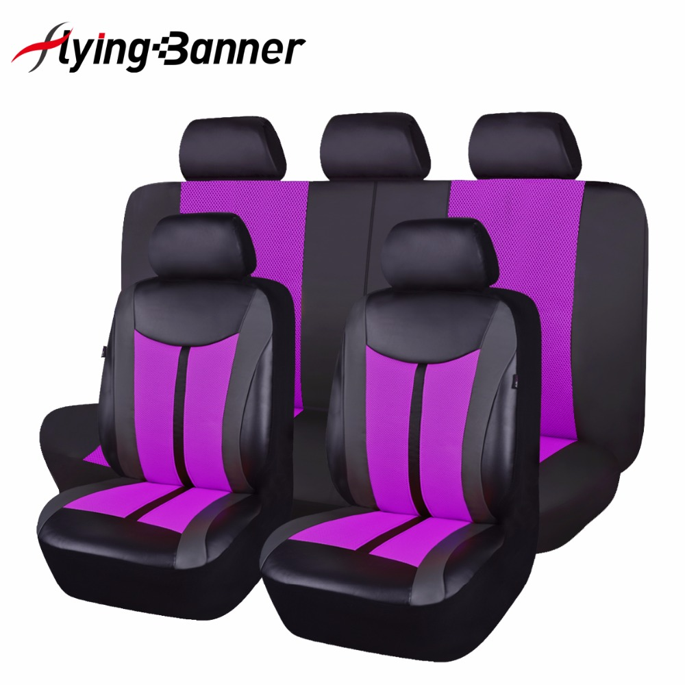 New Luxury PU Leather Auto Universal Car Seat Cover Automotive Seat Cover For Toyota Lada Kalina