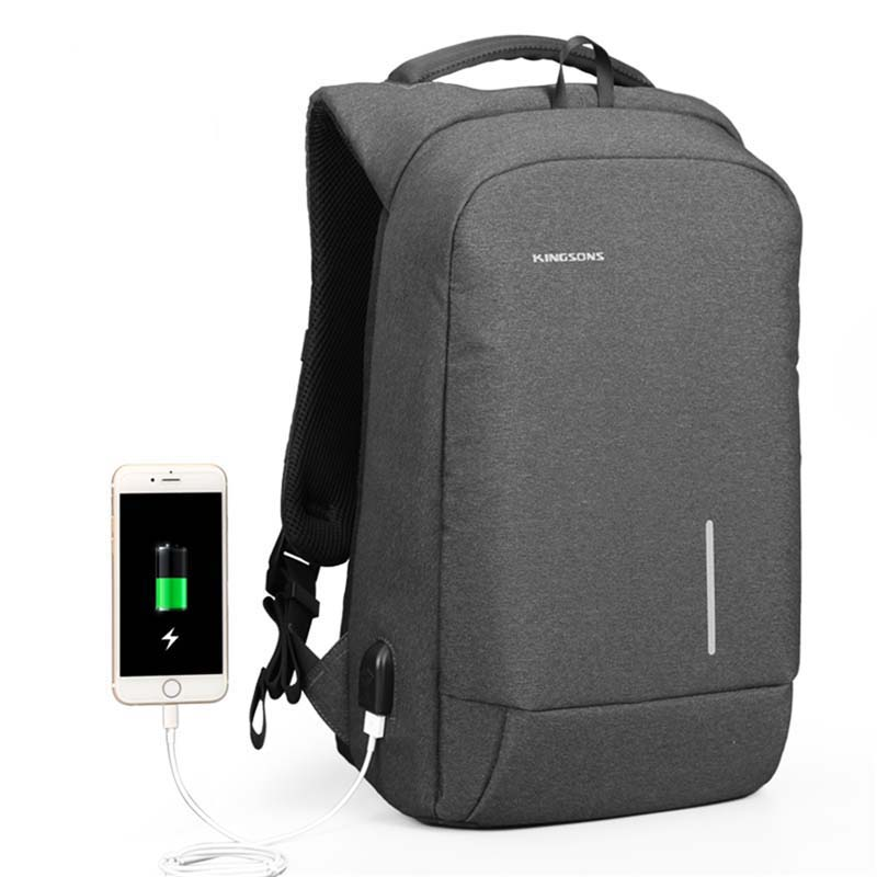 13/15 inch Laptop Backpack External USB Charging Bag Large Capacity Fashion School Backpack Men Women Travel Bag