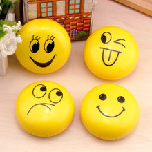 LIUSVENTINA Cute Smile Face Expression Contact Lens Case with Mirror Box Container for Color Lenses Gift For Girl Random Pattern(China)