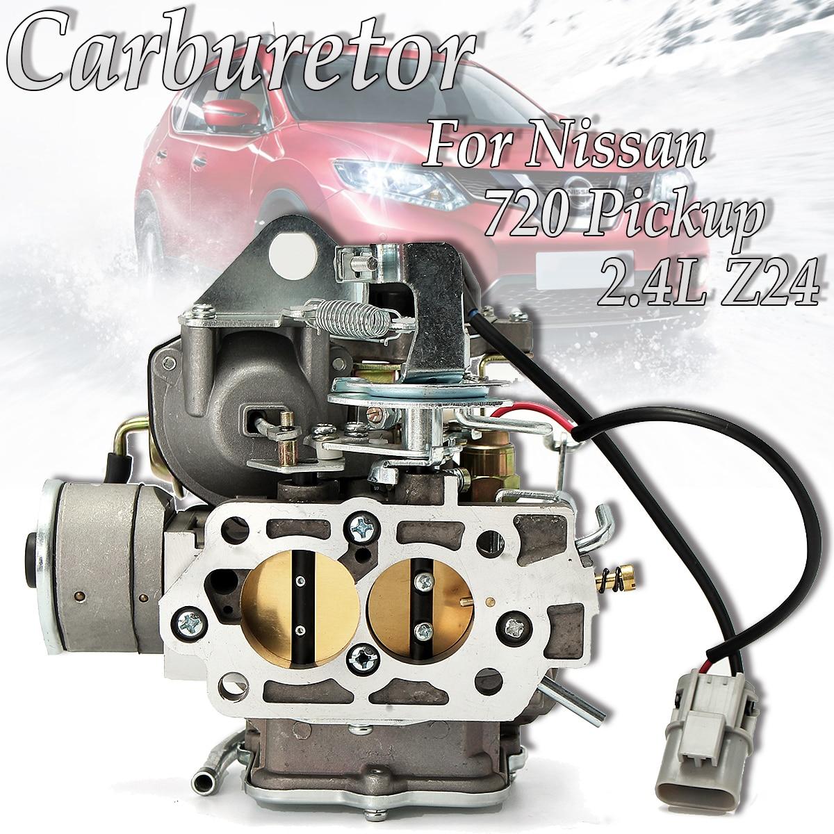 Car Carburetor Carb Engine Assembly Replacement Parts Auto Carburetor for Nissan 720 pickup 2.4L Z24 engine 1983-1986 carburetor carb for nissan a12 cherry pulsar vanette truck datsun sunny b210 pulsar truck 16010 h1602 16010h1602 16010 h1602