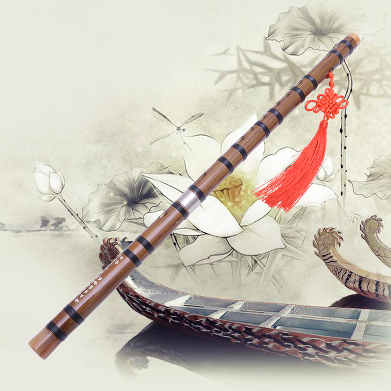 Traditional Handmade Pluggable Chinese Woodwind Musical Instrument Bamboo Flute/Dizi In G Key