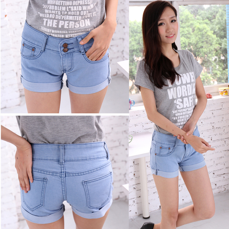 Product Features denim cotton,stretch,high quality shorts for womens,junior,girls,teen.