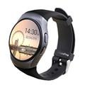 Smart Watch KW18 Heart Rate Monitor SIM TF MTK2502C Smartwatch Сенсорный Экран Смарт bluetooth Наручные Часы для android IOS телефонов
