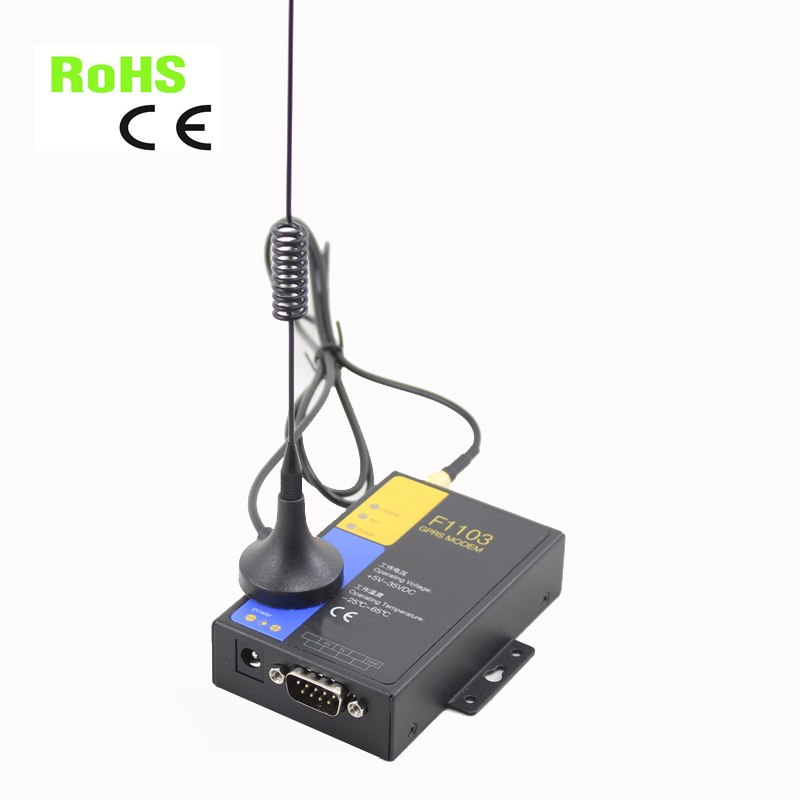F1103-Q RS232 quad band 850/900/1800/1900Mhz GPRS modem for SMS working good in south and north america support 850 1900mhz 3g usb rs232 modem