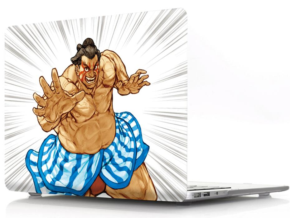 Sumo Printed Plastic Hard Cover Case For MacBook Air 11 Pro 12 13 15 Protective Shell for Apple Mac 11.6 13.3 15.4 Bag Sleeve
